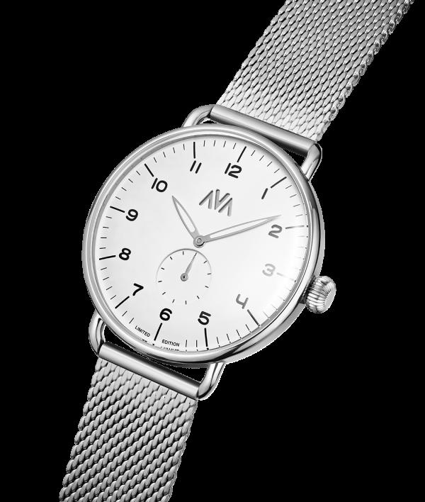 ava frige silver vit diagonal